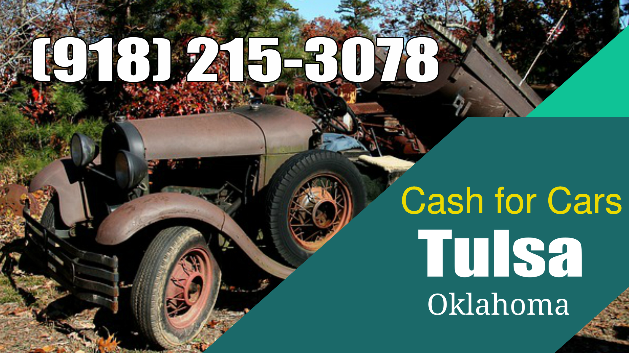 Cash For Cars Tulsa OK (918) 215-3078