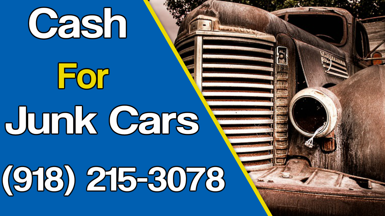 Cash for cars Tulsa -Service areas
